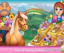 تحميل لعبة فتاة المزرعة Flower Shop Girl - My Little Garden