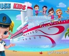 تحميل لعبة قبطان السفينة للايفون Cruise Kids - Ride the Waves