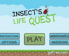 تحميل لعبة الحشرات الاستراتيجية Insects Life Quest