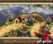 تحميل العاب دفاعية استراتيجية Evil Defenders