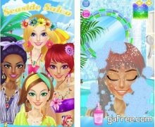 تحميل صالون البنات للايفون Seaside Salon