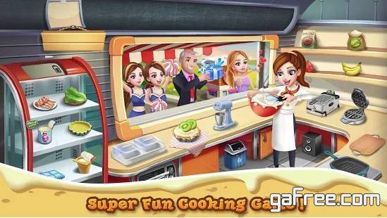 تحميل لعبة الطباخة الجديدة للاندرويد Rising Super Chef 2