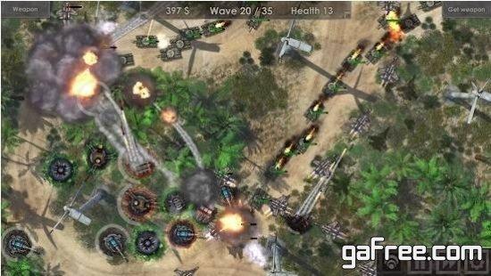 تحميل لعبة قتالية الدفاعية للاندرويد Defense Zone 3 HD