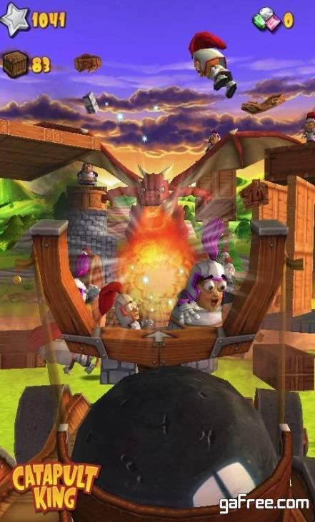 تحميل لعبة هدم القلعة Catapult King