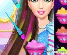 تحميل لعبة صالون الاميرة الصغيرة Princess Hair Tattoo Salon