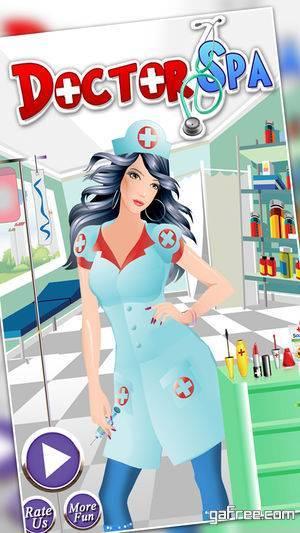 تحميل لعبة وضع المكياج للايفون Doctor Makeup Beauty Spa