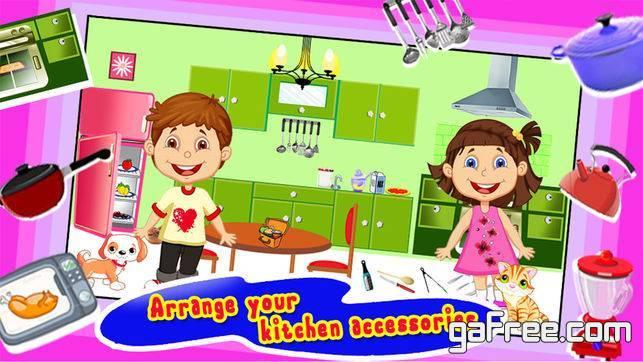 تحميل لعبة ترتيب منزل باربي للايفون Design Dream Doll House
