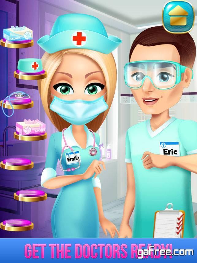تحميل لعبة دكتور الاطفال Kid's Hospital Girls Doctor Salon