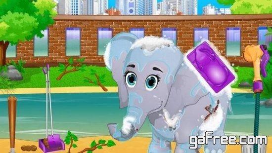 تحميل لعبة حديقة الحيوانات للايفون Zoo Animal Care Adventure