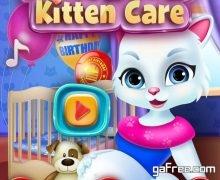تحميل لعبة رعاية القطة Newborn Kitten Care