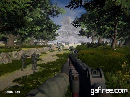 تحميل لعبة القتال بالاسلحة الرشاشة مجانا للكمبيوتر Forest Invasion