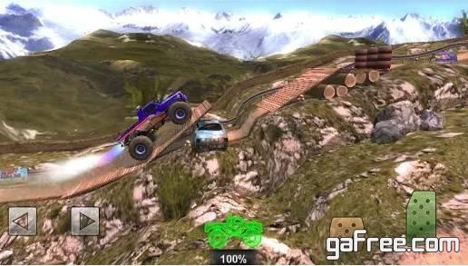 تحميل لعبة السيارات الجديدة للاندرويد Offroad Legends