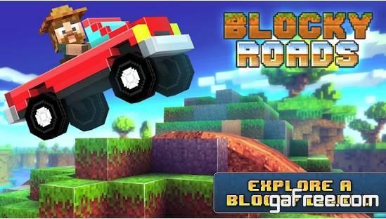 تحميل لعبة القيادة الخطيرة للاندرويد Blocky Roads