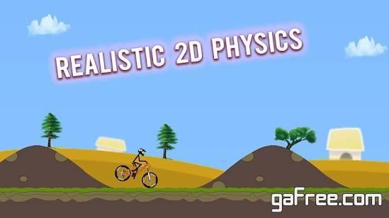 تحميل لعبة قيادة الدراجات الهوائية للاندرويد Stunt Hill Biker