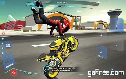 تحميل لعبة الدراجات النارية للاندرويد مجانا Stunt Bike Freestyle
