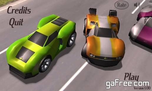 تحميل لعبة القيادة وسباق السيارات Lane Racer 3D