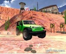 تحميل لعبة القيادة في الطرق الوعرة للاندرويد Extreme SUV Driving Simulator