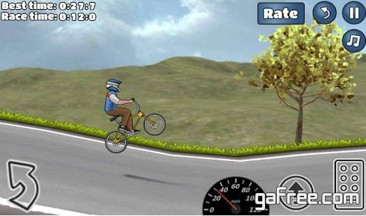 تحميل لعبة الدراجات النارية للاندرويد رابط مباشر Wheelie Challenge