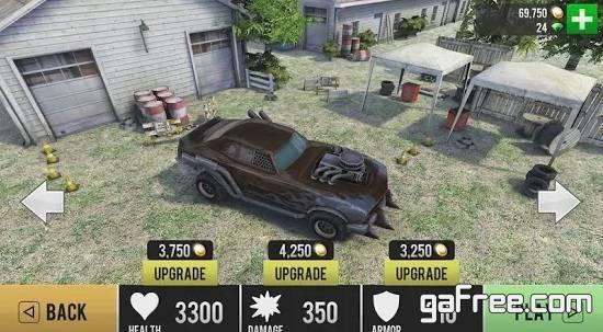 تحميل لعبة السيارات ضد الزومبي Zombie Drift