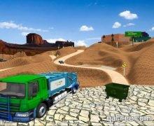 تحميل لعبة عمال النظافة الجديدة مجانا Offroad Garbage Truck Simulator
