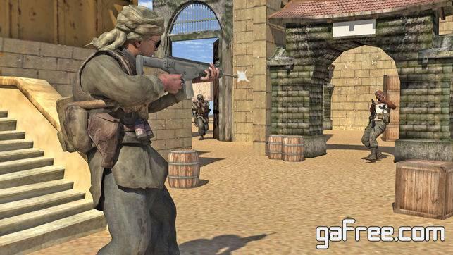 تحميل لعبة جندي العمليات الخاصة للايفون frontline Gunner