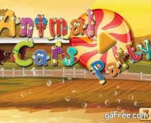 تحميل العاب خاصة بالاطفال Animal Cars Party Free