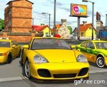 تحميل لعبة قيادة السيارات الاجرة للايفون 3d Taxi car driver Parking