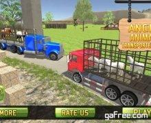 تحميل لعبة شاحنات نقل الحيوانات Farm & Zoo Angry Animals