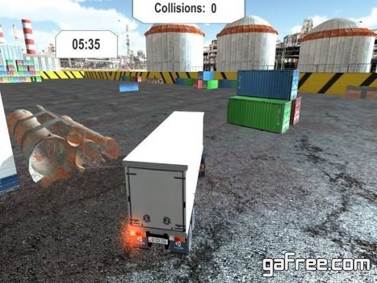 تحميل لعبة ركن الشاحنات للكمبيوتر مجانا Extreme Truck Parking