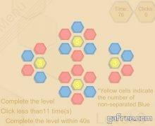 تحميل لعبة الذكاء وتدريب الدماغ Hexagon