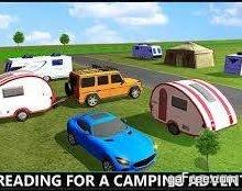تحميل لعبة قيادة الشاحنات المقطورة للايفون Camper Trailer Truck Driving