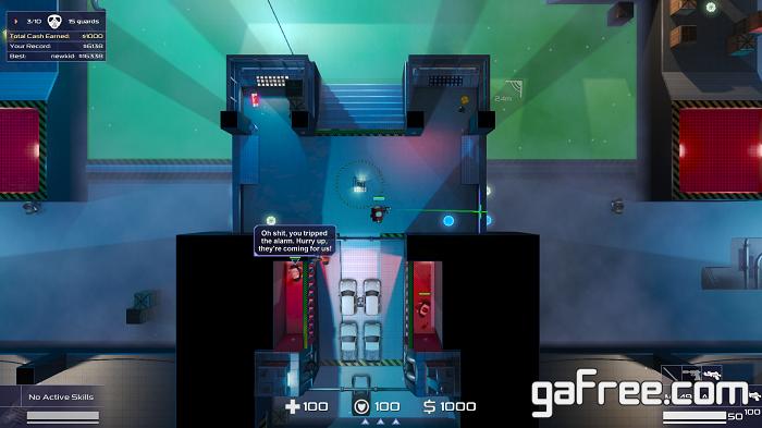تحميل لعبة المحارب للكمبيوتر Geneshift