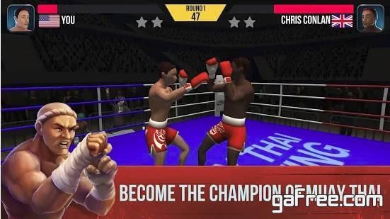 تحميل لعبة قتال الحر للاندرويد مجانا Muay Thai Fighting
