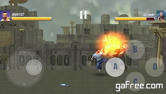 تحميل لعبة قتالية للاندرويد مجانا Street Fighting Game