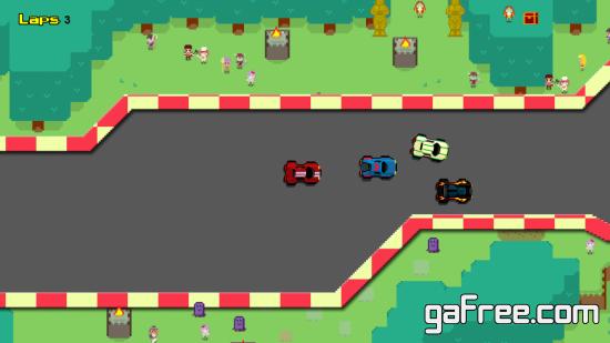 تحميل لعبة سيارات صغيرة للكمبيوتر Mortal Racer