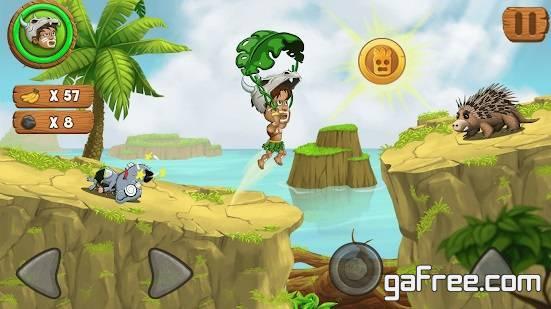 تحميل لعبة مغامرات خطيرة للاندرويد Jungle Adventures 2