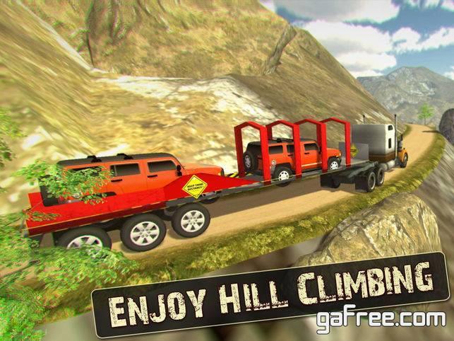 تحميل لعبة شاحنة النقل مجانا للايفون OffRoad Cargo Truck Simulator