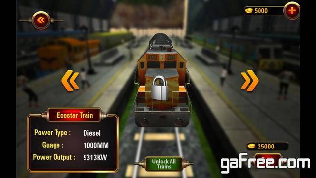 تحميل لعبة القطارات الجديدة للايفون مجانا VR Train Racing 3D