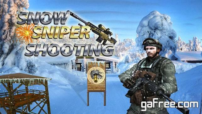 تحميل لعبة قناص الحرب للايفون Elite Snow Sniper Shooter