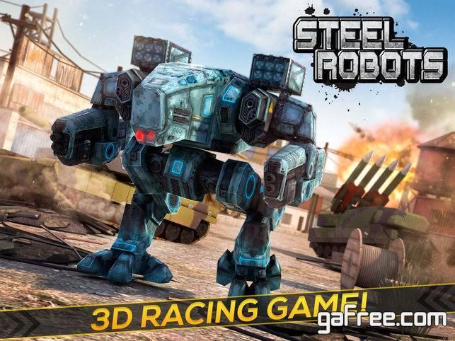 تنزيل لعبة قتال الروبوتات  للايفون Steel Robots 2