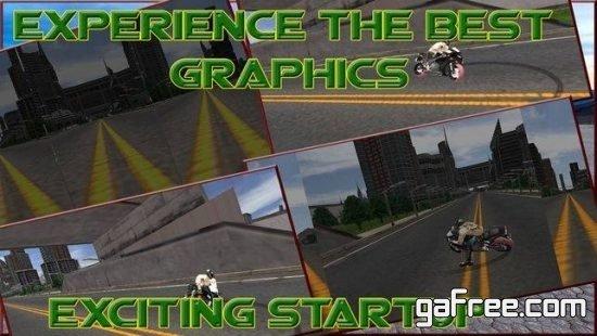 تحميل لعبة الدراجات النارية للايفون مجانا Crazy Moto 3D