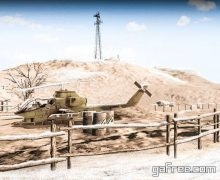 تحميل لعبة الهجوم على الأعداء للايفون Desert Sniper 3D elite kill-er