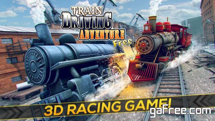 تحميل لعبة القطارات الجديدة مجانا للايفون Train Driving Adventure