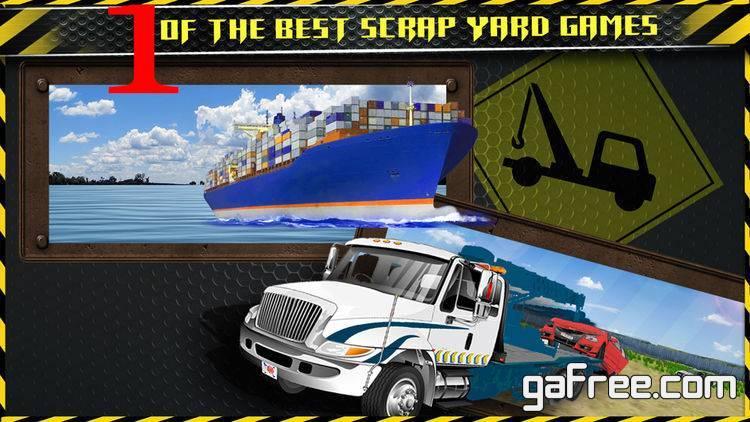 تحميل لعبة قطر المركبات Junk Yard Tow Truck Cars Transport