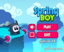 تحميل لعبة الغاز ومغامرات للكمبيوتر Spring Boy