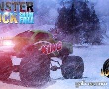 تحميل لعبة قيادة الشاحنة الوحش للايفون مجانا Monster Truck Snowfall