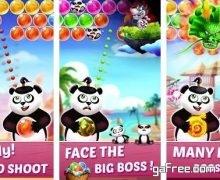 تحميل لعبة دب الباندا للاندرويد Panda Bubble Shooter Ball Pop
