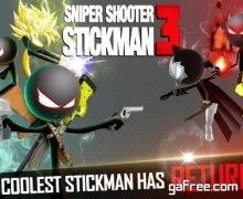 تحميل لعبة ستيك مان للاندرويد Sniper Shooter Stickman 3 Fury