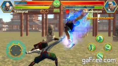 تحميل لعبة المقاتل الاسطورة للايفون Blade Kungfu Fighting
