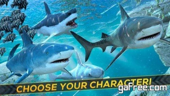 تحميل لعبة القرش والتمساح Shark Escape